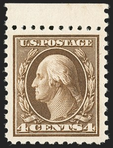 Sale Number 1206, Lot Number 457, 1913-15 Washington-Franklin Issues (Scott 424-461)4c Brown (427), 4c Brown (427)