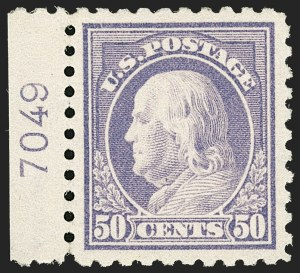 Sale Number 1206, Lot Number 465, 1913-15 Washington-Franklin Issues (Scott 424-461)50c Violet (440), 50c Violet (440)