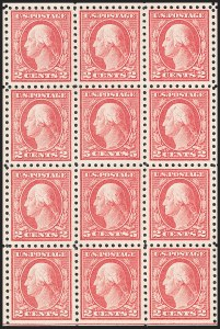 Sale Number 1206, Lot Number 497, 1916-17 Issues (Scott 462-480)5c Carmine, Error (467), 5c Carmine, Error (467)