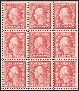 Sale Number 1206, Lot Number 498, 1916-17 Issues (Scott 462-480)5c Carmine, Error (467), 5c Carmine, Error (467)
