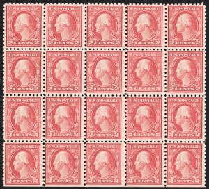 Sale Number 1206, Lot Number 499, 1916-17 Issues (Scott 462-480)5c Carmine, Error (467), 5c Carmine, Error (467)