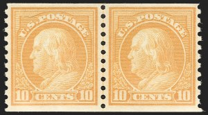 Sale Number 1206, Lot Number 510, 1917-19 Issues (Scott 481-524)1c-10c 1916-18 Coils (486-497), 1c-10c 1916-18 Coils (486-497)