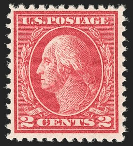 Sale Number 1206, Lot Number 520, 1917-19 Issues (Scott 481-524)2c Deep Rose, Ty. Ia (500), 2c Deep Rose, Ty. Ia (500)
