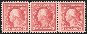 Sale Number 1206, Lot Number 525, 1917-19 Issues (Scott 481-524)5c Rose, Error (505), 5c Rose, Error (505)