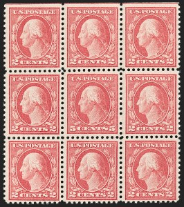 Sale Number 1206, Lot Number 526, 1917-19 Issues (Scott 481-524)5c Rose, Error (505), 5c Rose, Error (505)