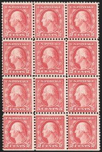 Sale Number 1206, Lot Number 527, 1917-19 Issues (Scott 481-524)5c Rose, Error (505), 5c Rose, Error (505)