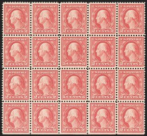 Sale Number 1206, Lot Number 528, 1917-19 Issues (Scott 481-524)5c Rose, Error (505), 5c Rose, Error (505)