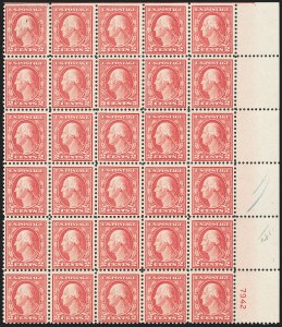 Sale Number 1206, Lot Number 529, 1917-19 Issues (Scott 481-524)5c Rose, Error (505), 5c Rose, Error (505)