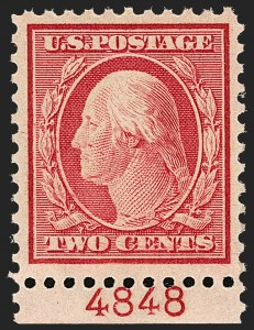 Sale Number 1206, Lot Number 547, 1917-19 Issues (Scott 481-524)2c Carmine (519), 2c Carmine (519)