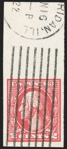 Sale Number 1206, Lot Number 573, 1918-20 Offset Printing Issues (Scott 525-536)2c Carmine, Ty. VII, Imperforate (534B), 2c Carmine, Ty. VII, Imperforate (534B)