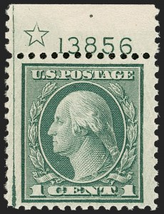 Sale Number 1206, Lot Number 577, 1919-20 Issues (Scott 537-550)1c Green, Rotary (545), 1c Green, Rotary (545)