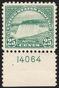 Sale Number 1206, Lot Number 587, 1922-29 Issues (Scott 551-621)25c Yellow Green (568), 25c Yellow Green (568)