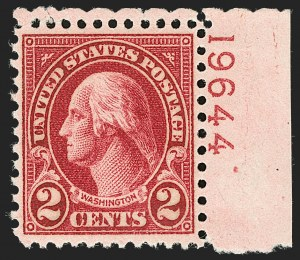 Sale Number 1206, Lot Number 620, 1925 and Later Issues (Scott 628-849)2c Carmine, Ty. II (634A), 2c Carmine, Ty. II (634A)