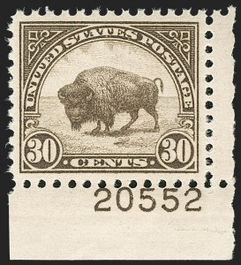 Sale Number 1206, Lot Number 636, 1925 and Later Issues (Scott 628-849)30c Brown (700), 30c Brown (700)