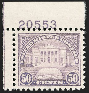 Sale Number 1206, Lot Number 637, 1925 and Later Issues (Scott 628-849)50c Lilac (701), 50c Lilac (701)