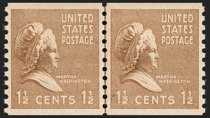 Sale Number 1206, Lot Number 647, 1925 and Later Issues (Scott 628-849)1-1/2c Bister Brown, Presidential Coil (840), 1-1/2c Bister Brown, Presidential Coil (840)