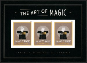 Sale Number 1206, Lot Number 659, Modern Varieties and ErrorsThe Art of Magic (Forever) Souvenir Sheet, Die Cutting Omitted (5306b), The Art of Magic (Forever) Souvenir Sheet, Die Cutting Omitted (5306b)