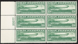 Sale Number 1206, Lot Number 680, Air Post, continued (C13-C23a)65c Graf Zeppelin (C13), 65c Graf Zeppelin (C13)