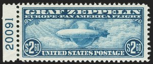 Sale Number 1206, Lot Number 682, Air Post, continued (C13-C23a)$2.60 Graf Zeppelin (C15), $2.60 Graf Zeppelin (C15)