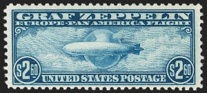Sale Number 1206, Lot Number 683, Air Post, continued (C13-C23a)$2.60 Graf Zeppelin (C15), $2.60 Graf Zeppelin (C15)