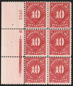 Sale Number 1206, Lot Number 706, Postage Due10c Deep Claret (J49), 10c Deep Claret (J49)