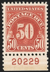 Sale Number 1206, Lot Number 709, Postage Due50c Carmine (J76), 50c Carmine (J76)
