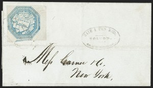 Sale Number 1206, Lot Number 762, Carriers and LocalsHale & Co., 5c Light Blue, Street Address Omitted (75L5), Hale & Co., 5c Light Blue, Street Address Omitted (75L5)