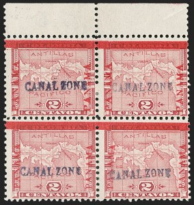 Sale Number 1206, Lot Number 885, Canal Zone thru GuamCANAL ZONE, 1904, 2c-5c First Issue (1-2), CANAL ZONE, 1904, 2c-5c First Issue (1-2)