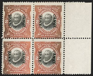 Sale Number 1206, Lot Number 896, Canal Zone thru GuamCANAL ZONE, 1920, 2c Orange Vermilion & Black, Double Ovpt., One Reading Down (56b), CANAL ZONE, 1920, 2c Orange Vermilion & Black, Double Ovpt., One Reading Down (56b)