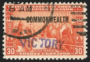 "Sale Number 1206, Lot Number 935, PhilippinesPHILIPPINES, 1944, 30c Orange Red, ""Victory"" Ovpt. (482), PHILIPPINES, 1944, 30c Orange Red, ""Victory"" Ovpt. (482)"