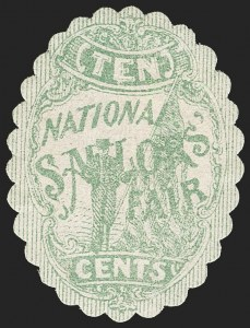 Sale Number 1206, Lot Number 958, Sanitary FairsNational Sailor's Fair, Boston, 10c Green (WV3), National Sailor's Fair, Boston, 10c Green (WV3)