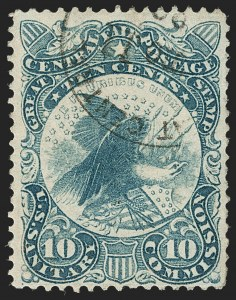 Sale Number 1206, Lot Number 963, Sanitary FairsGreat Central Fair, Philadelphia, 10c Blue (WV11), Great Central Fair, Philadelphia, 10c Blue (WV11)