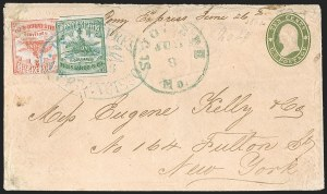 Sale Number 1207, Lot Number 16, Pony Express Covers,