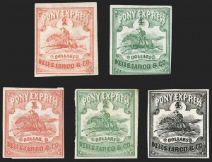 Sale Number 1207, Lot Number 19, Pony Express Covers,