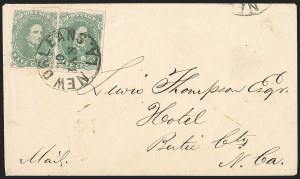 Sale Number 1208, Lot Number 137, General Issues5c Green, Stone 1-2 (1), 5c Green, Stone 1-2 (1)