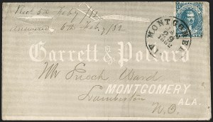 Sale Number 1208, Lot Number 222, Overall Advertising Covers10c Dark Blue, Hoyer & Ludwig (2b), 10c Dark Blue, Hoyer & Ludwig (2b)