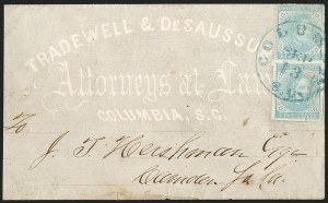 Sale Number 1208, Lot Number 227, Overall Advertising Covers5c Light Blue, De La Rue (6), 5c Light Blue, De La Rue (6)