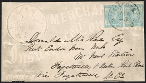 Sale Number 1208, Lot Number 228, Overall Advertising Covers5c Light Blue, De La Rue (6), 5c Light Blue, De La Rue (6)