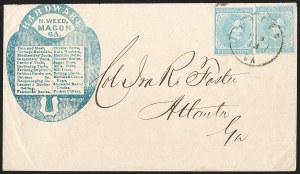 Sale Number 1208, Lot Number 238, Illustrated Advertising Covers5c Light Blue, De La Rue (6), 5c Light Blue, De La Rue (6)