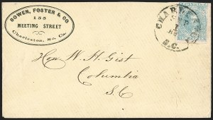 Sale Number 1208, Lot Number 243, Corner Card Covers10c Light Blue, Paterson (2), 10c Light Blue, Paterson (2)