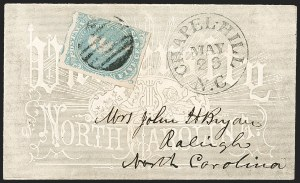 Sale Number 1208, Lot Number 255, College Covers (By State)5c Light Milky Blue, Stone 2 (4b), 5c Light Milky Blue, Stone 2 (4b)