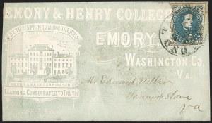 Sale Number 1208, Lot Number 259, College Covers (By State)5c Blue, Stone 2 (4), 5c Blue, Stone 2 (4)