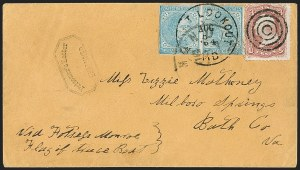 Sale Number 1208, Lot Number 303, Confederate Prisoners' Mail from Union PrisonsPoint Lookout, Md, Point Lookout, Md