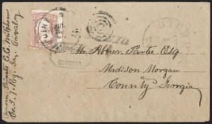 Sale Number 1208, Lot Number 304, Confederate Prisoners' Mail from Union PrisonsPoint Lookout, Md, Point Lookout, Md