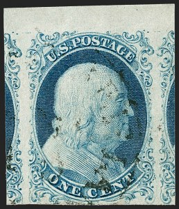 Sale Number 1209, Lot Number 1094, 1851-56 Issue (Scott 5-17)1c Blue, Ty. I (5), 1c Blue, Ty. I (5)