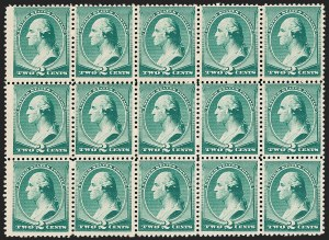 Sale Number 1209, Lot Number 1171, 1870-88 Bank Note Issues (Scott 134-218)2c Green (213), 2c Green (213)