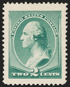 Sale Number 1209, Lot Number 1172, 1870-88 Bank Note Issues (Scott 134-218)2c Green (213), 2c Green (213)