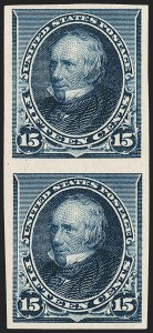 Sale Number 1209, Lot Number 1180, 1890-93 Issue (Scott 219-229)15c Indigo, Imperforate (227a), 15c Indigo, Imperforate (227a)