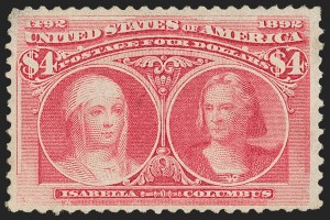 Sale Number 1209, Lot Number 1183, 1893 Columbian Issue (Scott 230-245)2c-$4.00 Columbian (231-236, 238-241, 244), 2c-$4.00 Columbian (231-236, 238-241, 244)