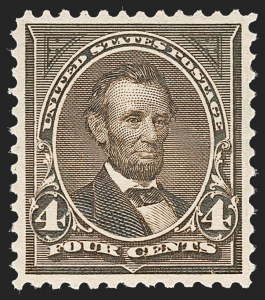 Sale Number 1209, Lot Number 1201, 1894-95 Bureau Issues (Scott 246-278)4c Dark Brown (269), 4c Dark Brown (269)